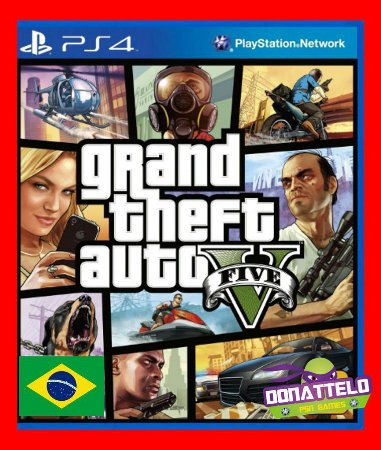 Grand Theft Auto V - GTA 5 ps4