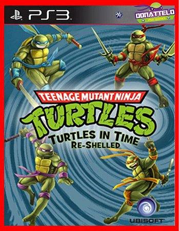 Tartarugas Ninja - Turtles in time Re-Shelled ps3