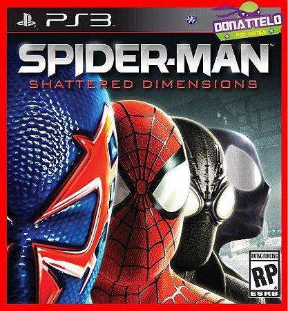 Spider-Man: Shattered Dimensions ps3 - Homem Aranha