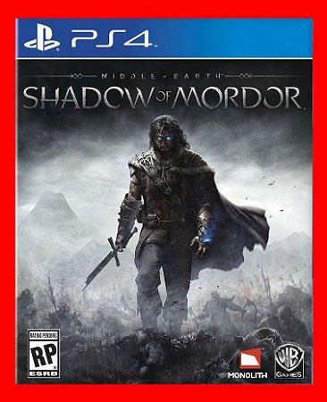 Middle Earth Shadow of mordor - Sombras de mordor ps4