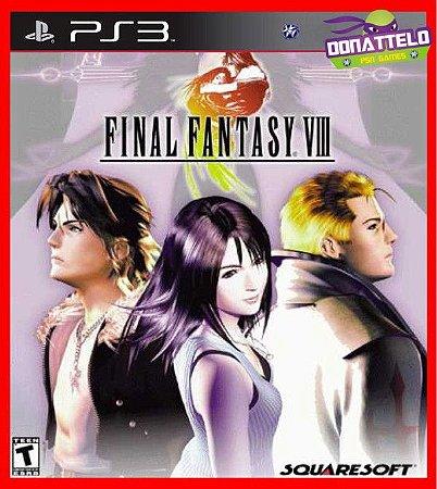 Final Fantasy VIII - Final Fantasy 8 ps3
