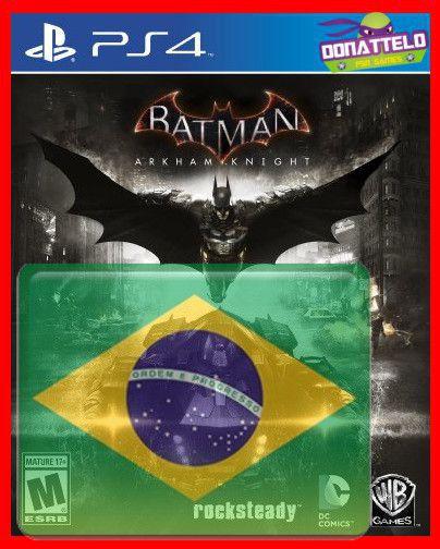 Batman Arkham Knight PS4 dublado em portugues