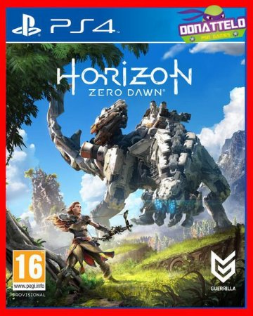 Horizon Zero Dawn ps4 - dublado portugues br