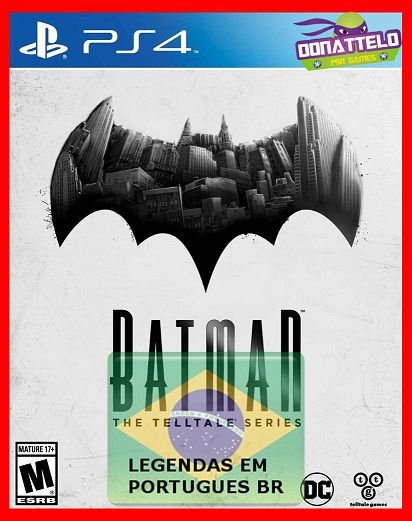 Batman The Telltale Series – Temporada completa PS4