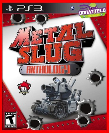 Metal Slug Anthology - Sete jogos - Metal slug complete edition