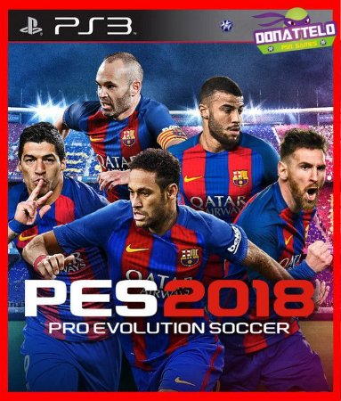 Pro Evolution Soccer 2018 - pes 18 ps3