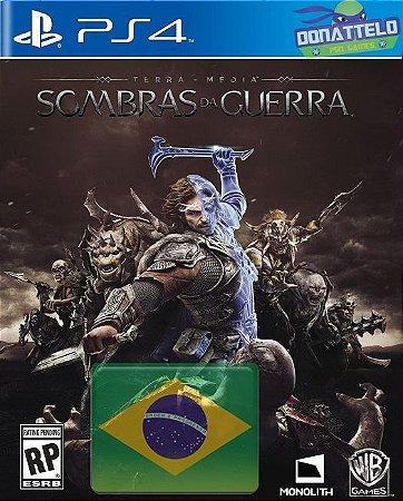 Terra Media: Sombras da Guerra ps4