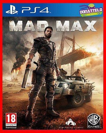 Mad Max ps4 - versão americana