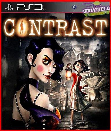 Contrast ps3 - Fantástico Mundo 3d E Um Universo 2d