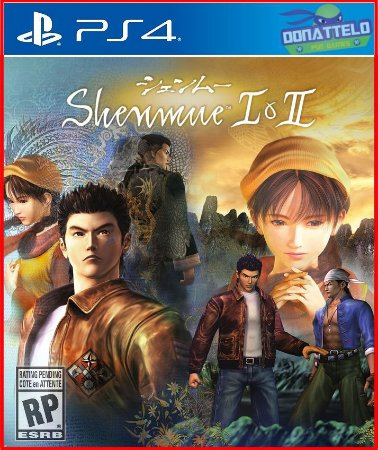 Shenmue 1 e 2 Remasterizado ps4