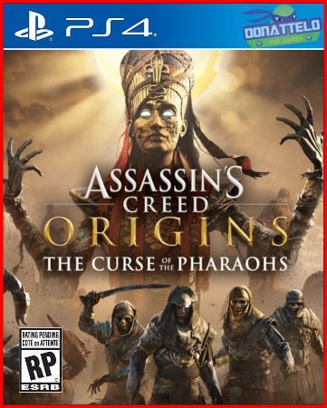 DLC Assassin's Creed Origins – The Curse Of The Pharaohs - A Maldição dos faraós