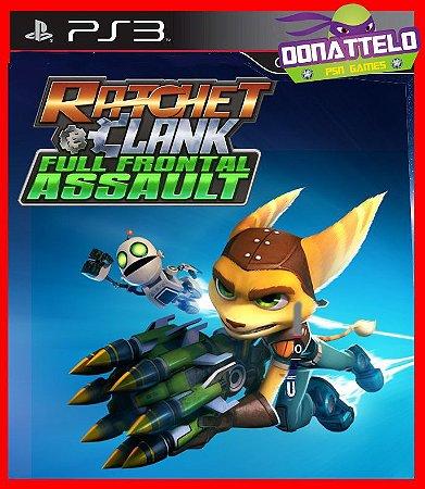 Ratchet e Clank Full Frontal Assault ps3