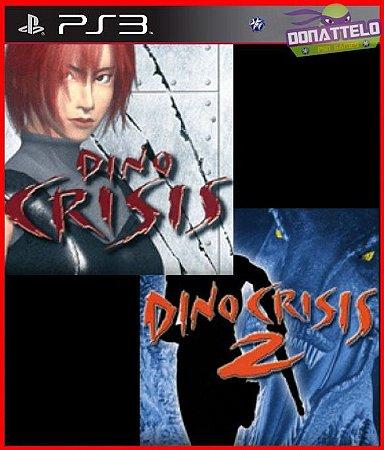 Dino Crisis 1 e 2 para ps3
