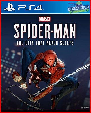 DLC A cidade que nunca dorme - Marvel Spider Man - Homem Aranha - ps4