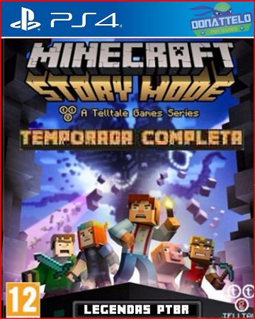 Minecraft Story Mode ps4 - Temporada completa 5 episodios