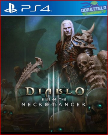 DLC A Ascensão do Necromante - Diablo 3 PS4