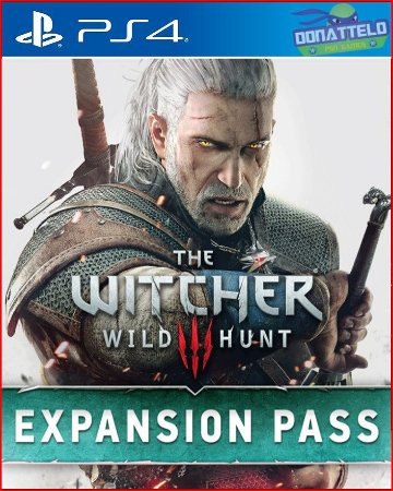 Season Pass The Witcher 3 Wild Hunt ps4
