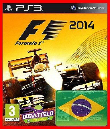 F1 2014 - Formula 1 2014 dublado ps3