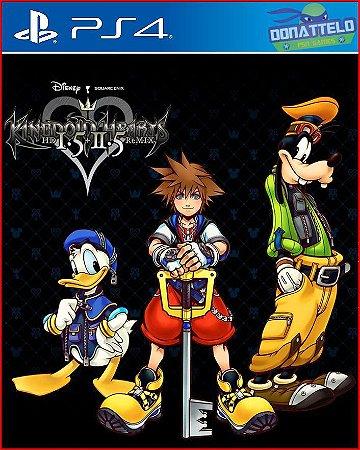 Kingdom Hearts HD 1.5 + 2.5 Remix ps4