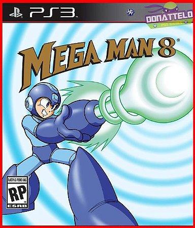 Mega Man 8 PS3 -  Megaman 8