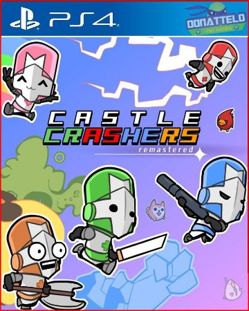 Castle Crashers Remastered PS4/PS5