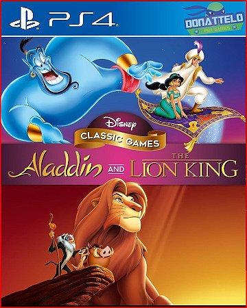 Disney Classic Games: Aladdin e o Rei Leão PS4