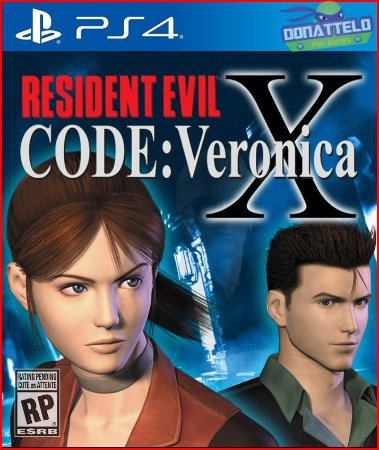 Resident Evil Code Veronica X PS4