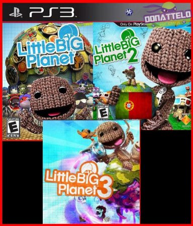 Coleção Little Big Planet PS3