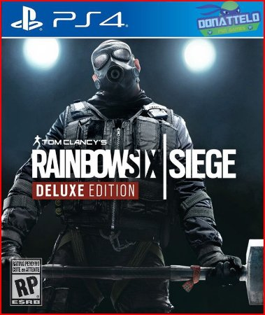 Tom Clancys Rainbow Six Siege PS4 - Deluxe Edition