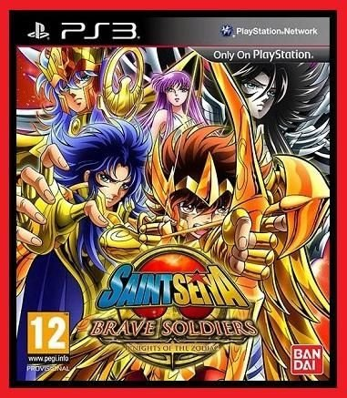 Cavaleiros do Zodiaco: Bravos Soldados ps3