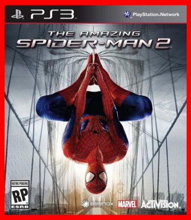 The Amazing SpiderMan 2 - Homem Aranha 2 ps3