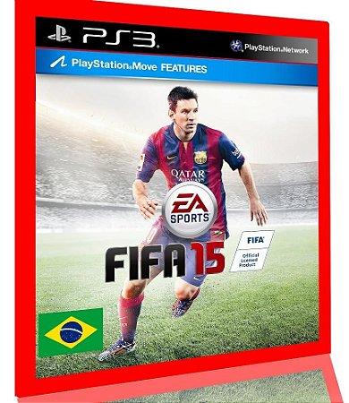 Fifa 15 ps3 narracao portugues br