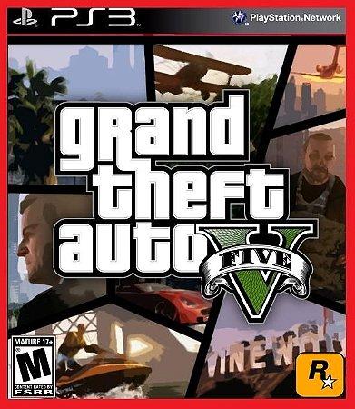Grand Theft Auto V - GTA 5 PS3