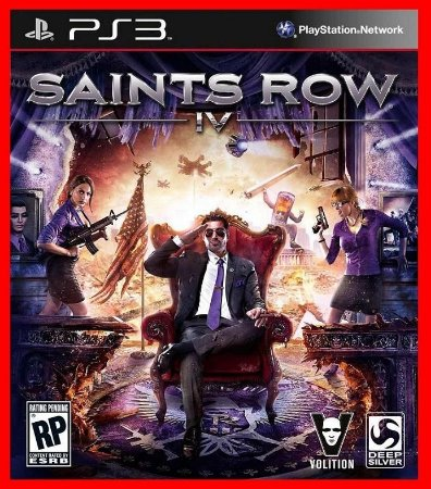 Saints Row IV 4 ps3