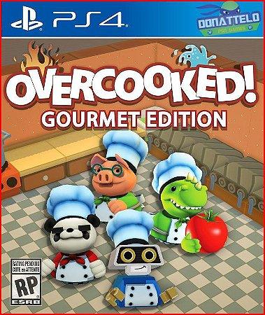 Overcooked PS4 - Edição Gourmet