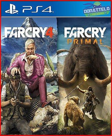 Coleção Far Cry 4 e Far Cry Primal PS4