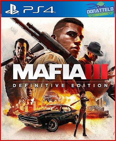 Mafia 3 Definitive Edition PS4 - Mafia III PS4