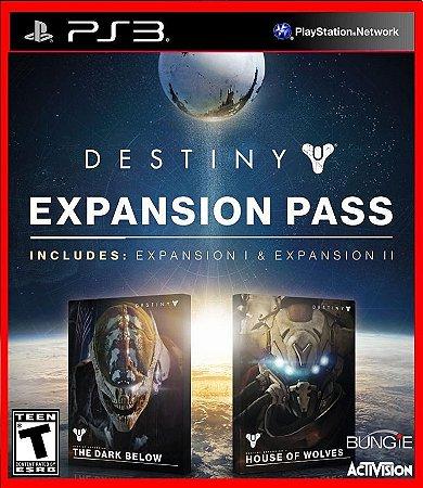 Destiny Season Pass (dark below e house of wolves)
