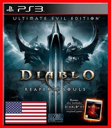 Diablo 3 Reaper of Souls: Ultimate Evil Edition ps3 - Inglês