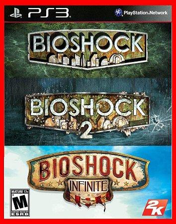 Bioshock Trilogy ps3 - Bioshock 1, 2 E Infinity