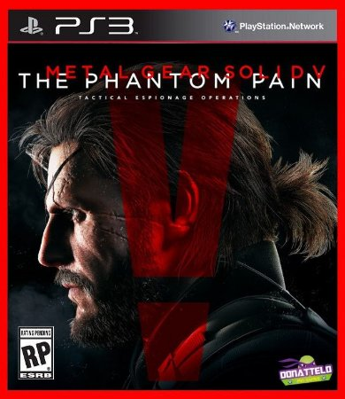 Metal Gear Solid V : The Phantom Pain ps3