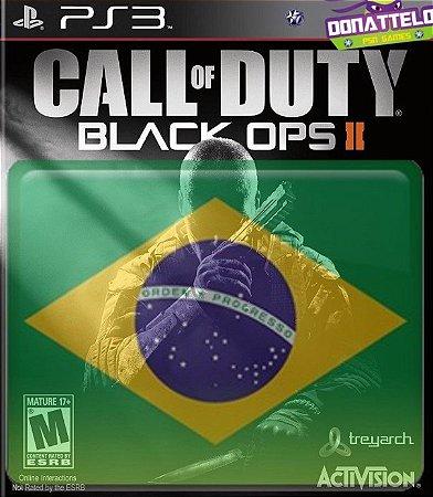 Call of Duty Black Ops II ps3 - Cod Black Ops 2 + pacote de mapas - portugues br