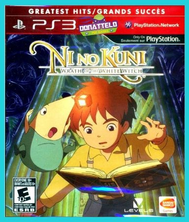 Ni no kuni Wrath of the white witch ps3