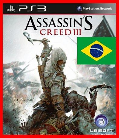 Assassins Creed III - AC3 100% portugues br