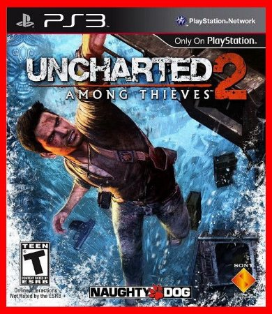 Uncharted 2 ps3 - Among Thieves