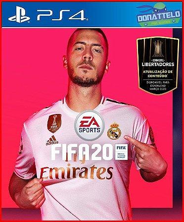 Fifa 20 PS4 - Narração em portugues br