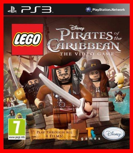 Lego Piratas do Caribe The Videogame ps3