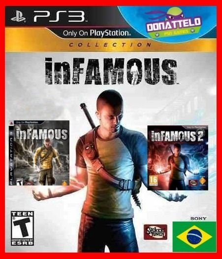 Infamous Collection - Infamous 1, Infamous 2 e Festival of blood