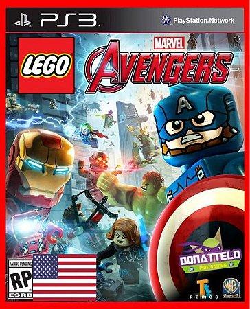 Lego Marvel Avengers Vingadores ps3 EM INGLÊS