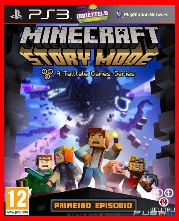 Minecraft Story Mode ps3 - Episodio 1: The order of the stone